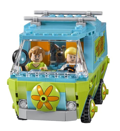 Lego Scooby Doo The Mystery Machine 75903 lego scooby doo tous les visuels officiels hoth bricks