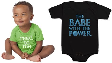 Nerdy Baby Clothes Gloss