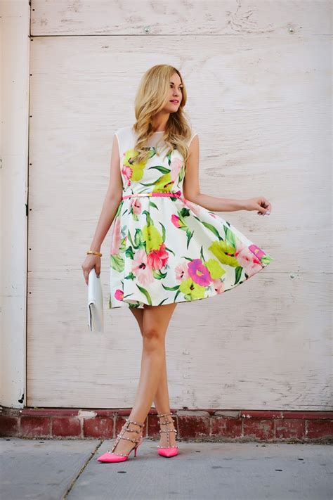flower dresses and shoes caitlin lindquist how to add some feminine flair in your