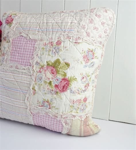 shabby chic clothes shabby chic country style patchwork cushion cover things to sew