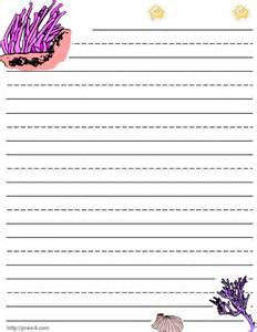 Childrens Writing Paper Free Printable Lined Paper For Kids Writing Free Printable