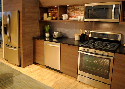 ge vs whirlpool refrigerator whirlpool says stainless is out sunset bronze is in