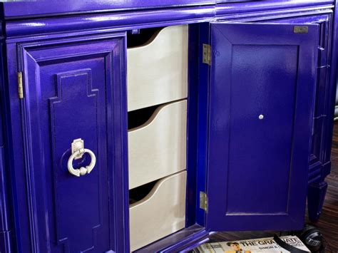 Cabinet Door Storage Ideas by How To Transform Furniture With Creative Paint