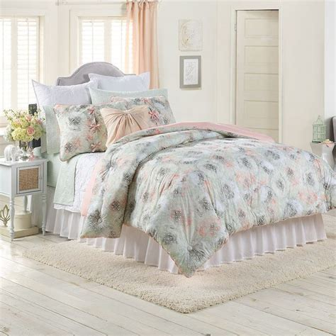 lc lauren conrad for kohl s peony dreams bedding set