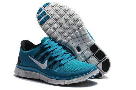 Nike Free Running 5 0 Original original nike free 5 0 womens peacock blue black running