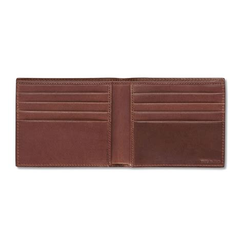 Bifold Wallet pineider power elegance mens small leather wallet bifold
