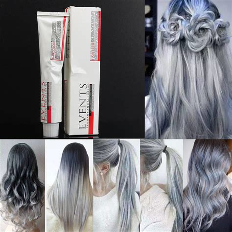 light grey hair dye light grey hair dye color cream fashion styling diy para
