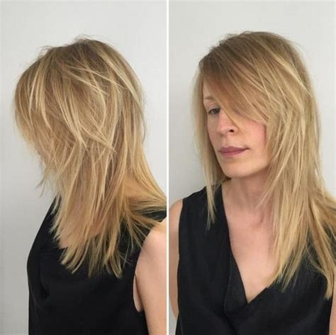 what is that layered hairstyle that looks like unupsided traingle in the back 15 best ideas of shaggy layered haircuts for long hair
