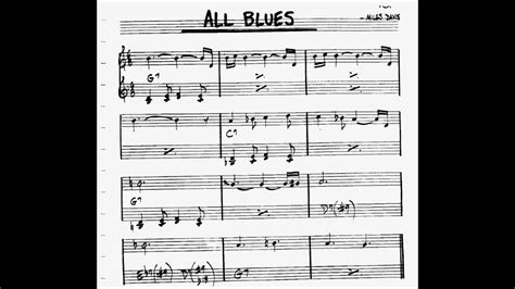 all blues bass all blues play along backtrack