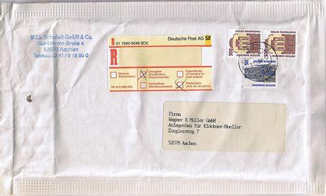 Porto Schweiz Brief Bis 500g Philaseiten De Einschreiben Belege Und Informationen