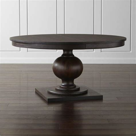 brown round extendable dining table brown round extendable dining table