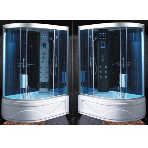 vasca angolare con box doccia cabina idromassaggio con vasca sauna bagno turco e doccia pd