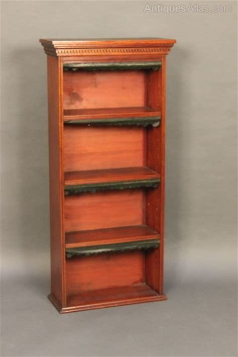 Small Thin Bookshelf Small Narrow Bookcase C 1880 Antiques Atlas