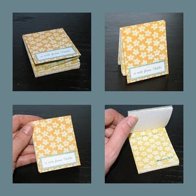 Pattern Notes Exle | the laundry will wait how to make a tear out notepad