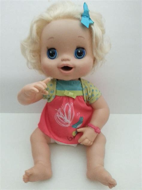 Baby Alive Baby Real hasbro baby alive real surprises doll 2010 interactive