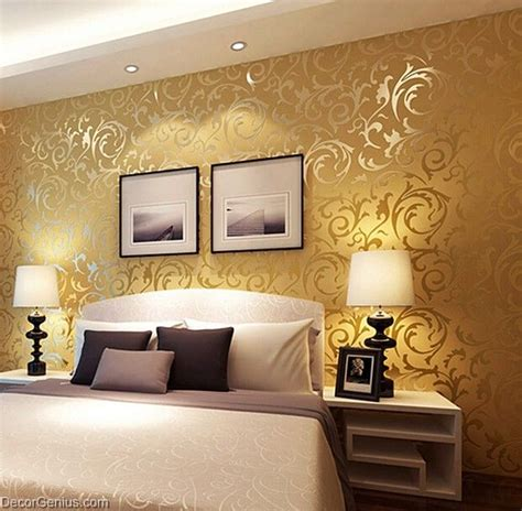home design 3d gold ideas popular 3d design dk gold bedroom wallpaper modern style