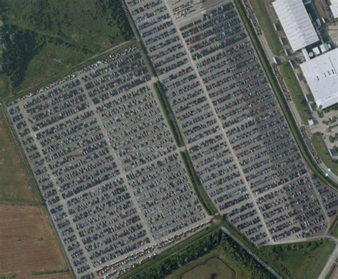 where do all the unsold new cars go you won t believe where the world s unsold cars go to die