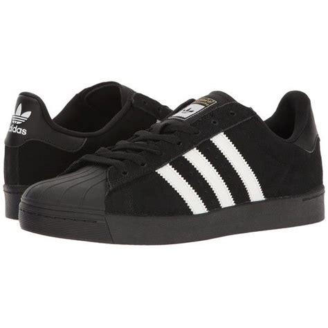 adidas skateboarding superstar vulc adv black white black skate 80 liked on polyvore