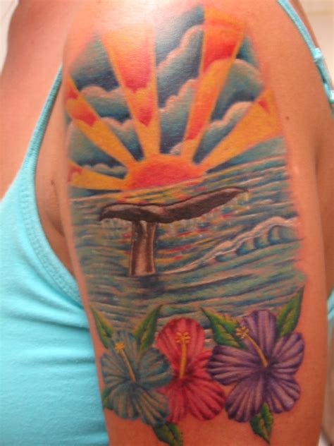 the ocean tattoo picture
