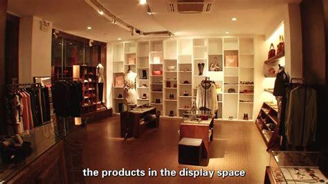 led lighting design project  clothing shop  led focus spotlight youtube