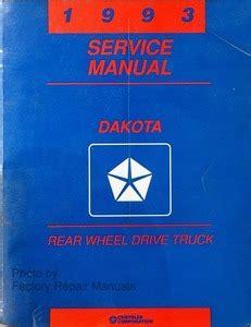 1993 dodge dakota truck shop service repair manual engine 1993 dodge dakota pick up truck factory service manual original shop repair factory repair