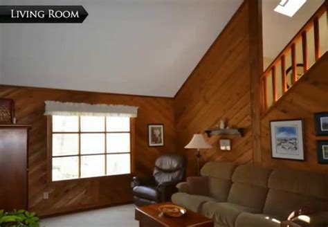 Need Help Decorating Home by Need Help W Diagonal Wood Paneling In Our New Living Room