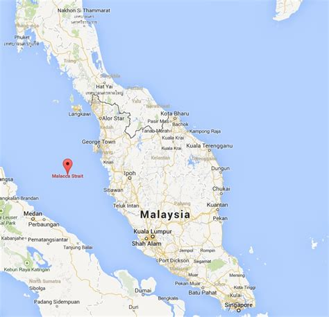 strait of map malacca strait world airline news
