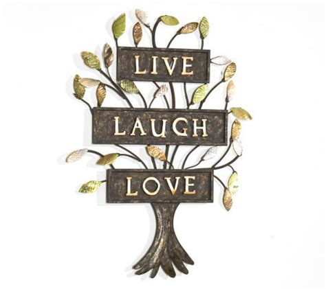 live laugh love art live laugh love metal wall art page 1 qvc com