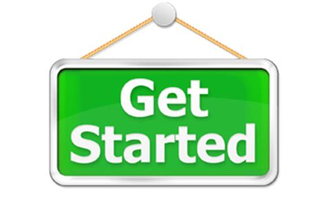 search how to get started get started