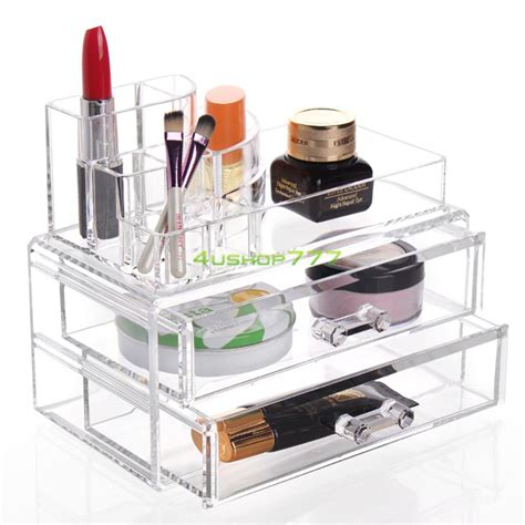 Clear Makeup With Drawers by Clear Makeup Drawers Cosmetic Organizer Jewelry