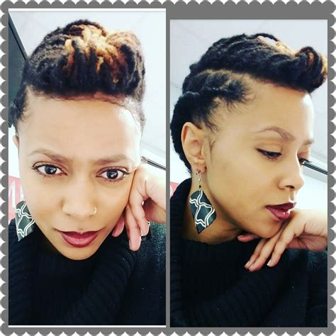 Loc Updo Hairstyles by Loc Updo For To Medium Length Locs