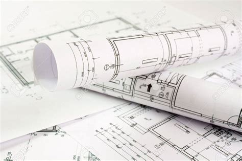 architect design house plans architect rolls and house plans stock photo picture and royalty luxamcc