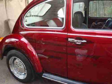 find   vw superbeetle restored  enginecandyapple redrare autostick warranty