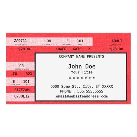 Concert Ticket Template concert tickets template free new calendar template site