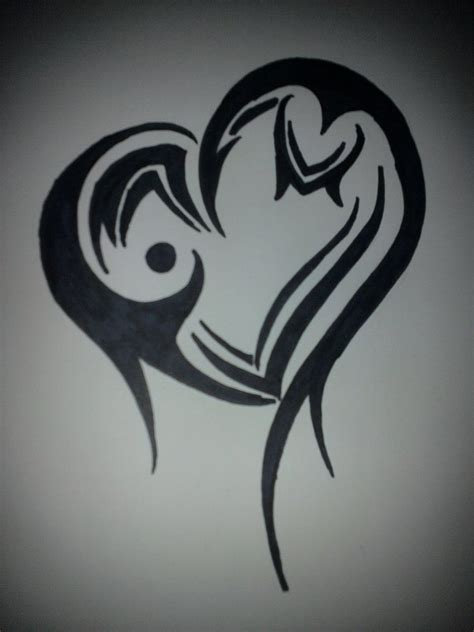 tribal tattoo heart designs tattoos and designs page 173