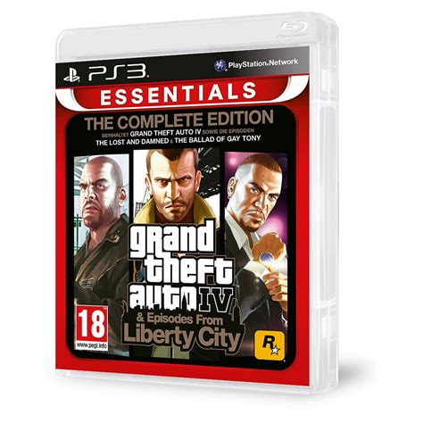 Grand Theft Auto Iv Complete Edition by Grand Theft Auto Iv The Complete Edition Ps3 Akci 243 S 225 R