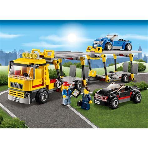camion porte voiture jouet lego camion porte voiture courroie de transport