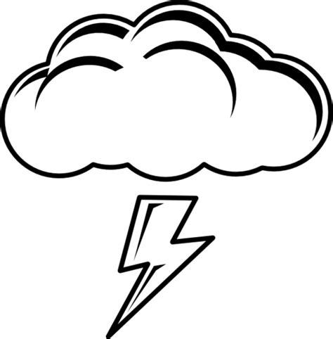 Cloud Lightning Clipart