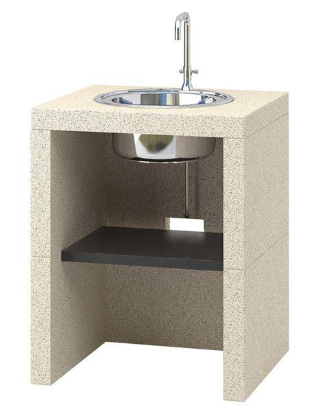 outdoor k che mit waschbecken waschbecken modul acqua outdoork 252 che sunday kaufen