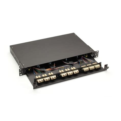 Fiber Shelf by Jpm427a R2 Rackmount Fiber Shelf Pull Out Tray 1u
