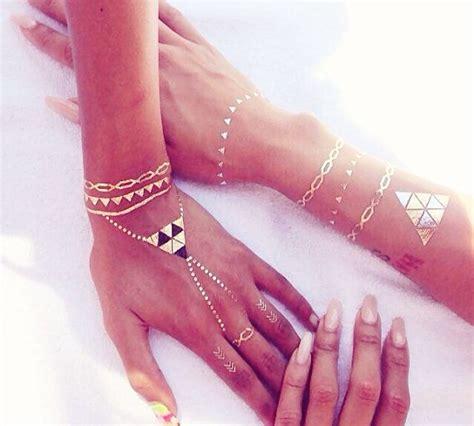gold henna tattoo best 25 gold ideas on flash tats