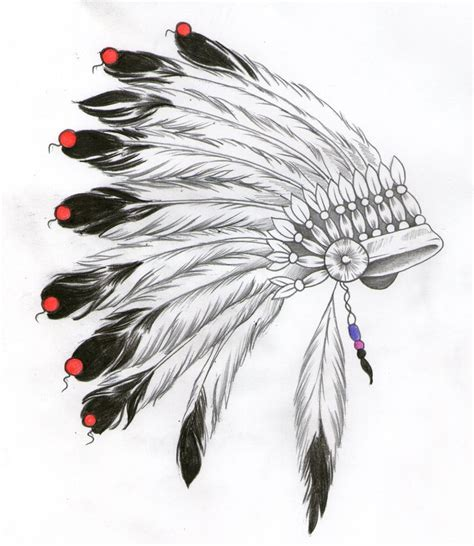 indian headdress tattoo designs indian headdress design watercolour inspiration