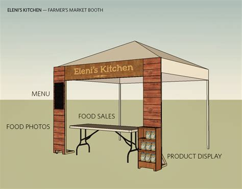 booth design maker eleni s kitchen relevant studios a branding packaging