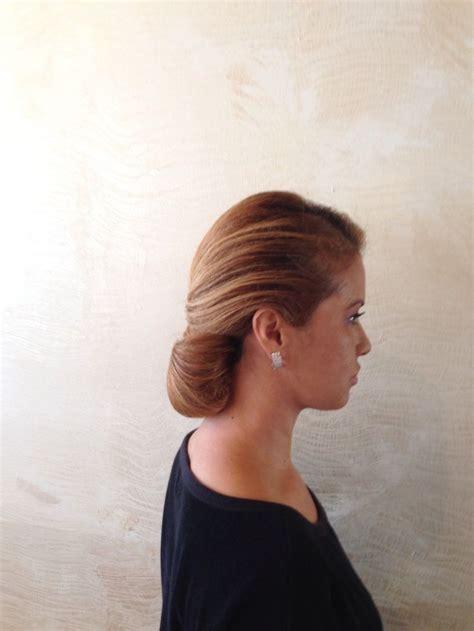 1950s updo hairstyles sleek 1940 1950s updo my style pinterest