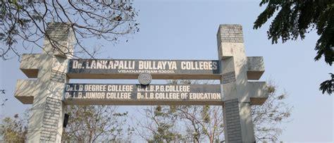 Andhra Mba Ranking by Dr Lankapalli Bullayya College Visakhapatnam Admissions
