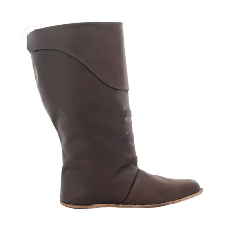 mid calf boots size 8 5 brown leather gdfb