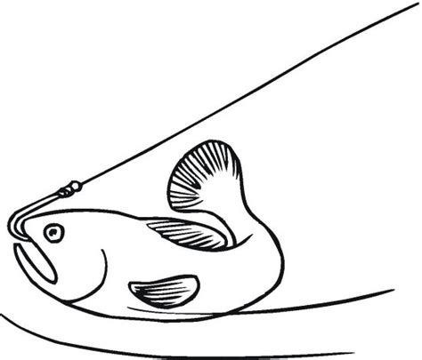 fish hooks coloring pages to print fish hook coloring pages