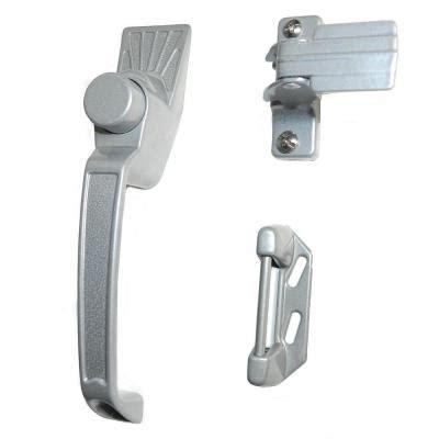 Home Depot Screen Door Handles by Silver Aluminum Screen Door Handle Set Latches 327 The