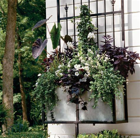 Fensterbank Blumenkasten by Fensterbank Blumenkasten Wei 223 E Blumen Violettes Laub