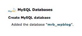 designing a mysql database tips and techniques devshed a complete guide to installing wordpress elegant themes blog